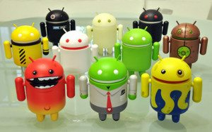 The different aspects of Android the icon