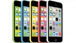 Iphone 5c in multiple colors