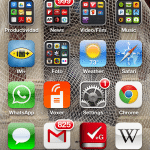 screenshot of iphone5 with iOS6
