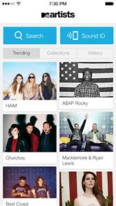 MTV Artists App