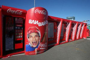 New Coke machine staring Alex Ovechkin