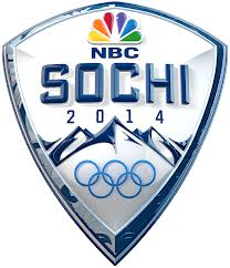 NBC logo over Olympic rings