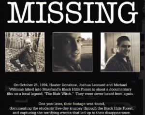 "One of the first successful viral marketing campaigns, The Blair Witch Project film cleverly marketed the movie as being 100% true by creating rumors on message boards, sporadically releasing ""found footage,""and even releasing a mockumentary concerning the missing students/characters."