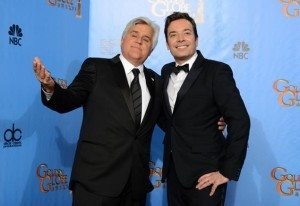 Leno and Fallon, courtesy NY Daily News