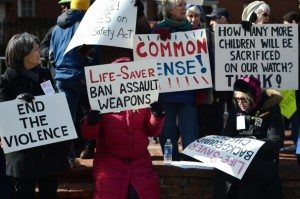 Moms Protesting in Favor Of Gun Control