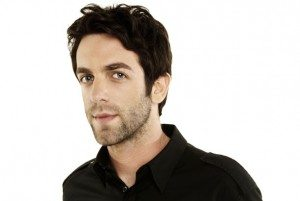 headshot of actor and writer BJ Novak