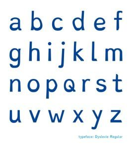 typeface for dyslexics