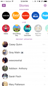 new snapchat news features