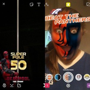 Improve Your Snapchat Game: Super Bowl Edition