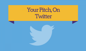 Pitch on Twitter