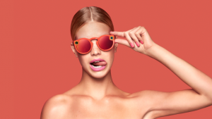 "Snapchat ""Spectacles"" in Coral Color"