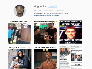 King Bach Instagram