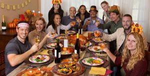 Friendsgiving holiday