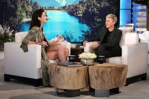 Kendall Jenner on Ellen discussing her social media cleanse