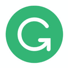 Green logo with white G.