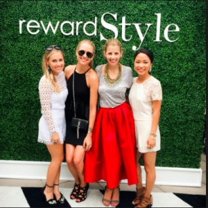 Reward style is one of the ways fashion bloggers profit