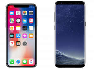iPhone X copying Android phones
