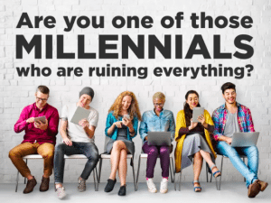hate towards millennials