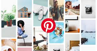 An Example of a Pinterest explore page.